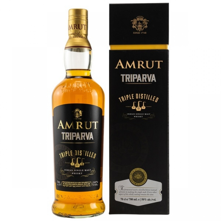 Amrut Triparva Triple Distilled - Indien