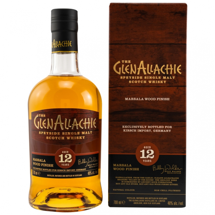 GlenAllachie 12 Jahre Marsala Wood Finish
