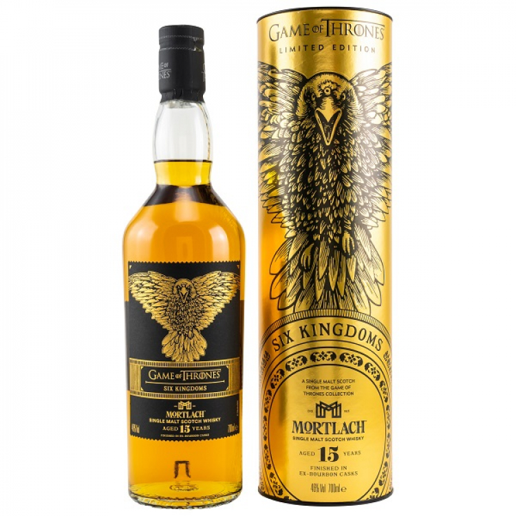 Mortlach 15 Jahre - Six Kingdoms (Game of Thrones Collection)