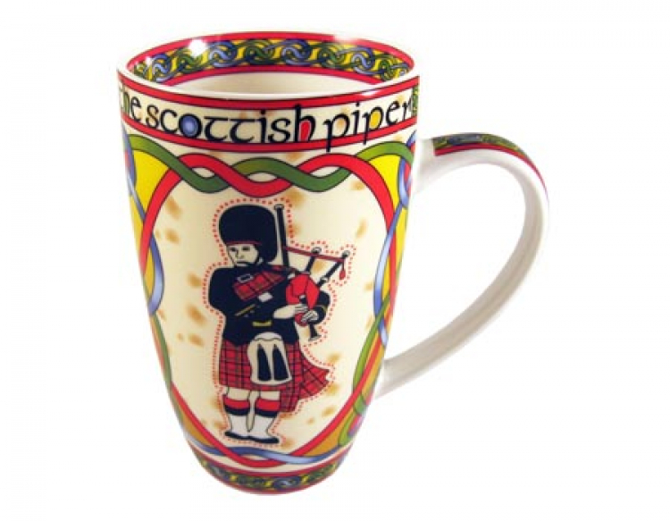 Scottish Weave Tasse The Scottish Piper