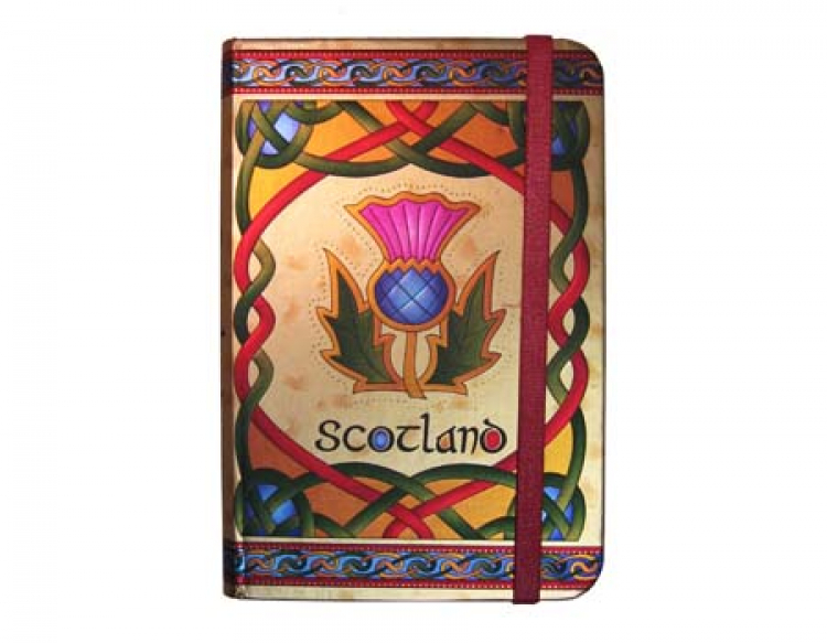 Notebook Scottish Thistle
