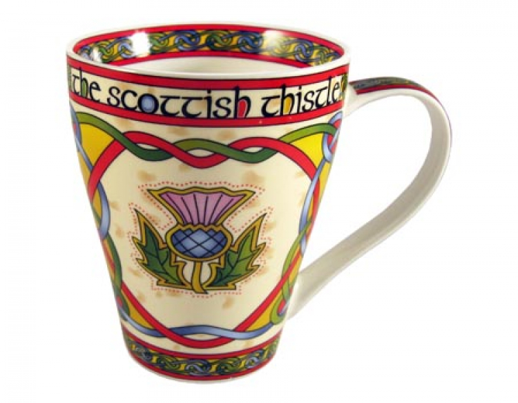 Scottish Weave Tasse The Scottish Thistle
