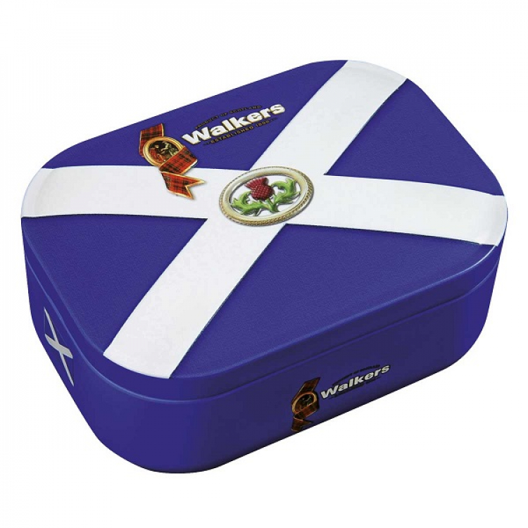 Walkers Saltire Shortbread Rounds 136g