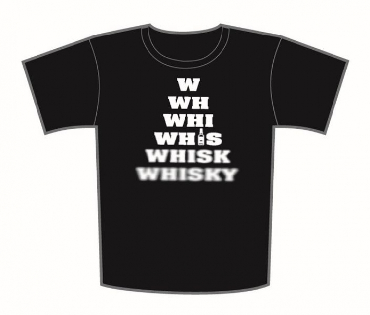 T-Shirt W WH WHIS WHISK WHISKY
