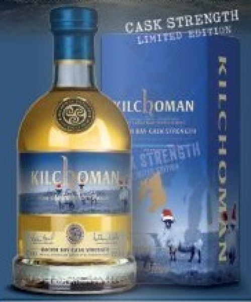 Kilchoman Machir Bay Cask Strength Festive Edition