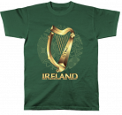 T-Shirt Ireland Celtic Harp